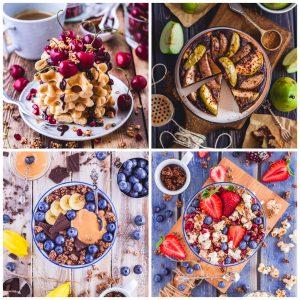Unterlagen und Hintergründe für Top Food Fotografie