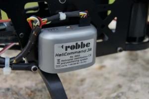 Modellbau Hubschrauber mit HeliCommand Technik Detailansicht
